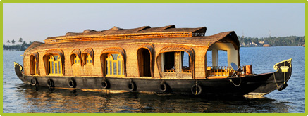 Alleppey 2 bedroom Deluxe Houseboats in alleppey